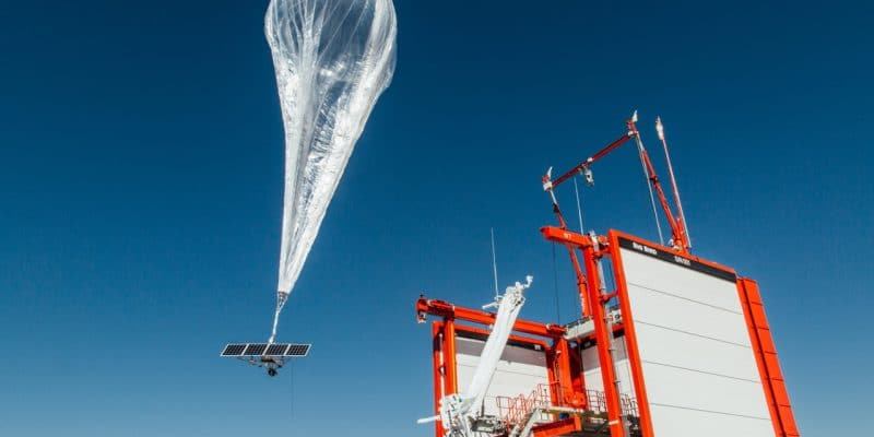 KENYA: Loon's first solar-powered balloon brings internet connection©Loon LCC