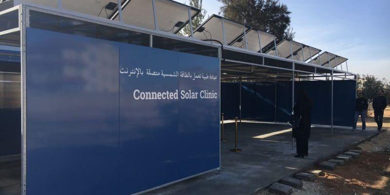 AFRICA: Solarkiosk and Unitar's Covid-19 mobile and solar test laboratories©Solarkiosk