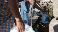GABON: Covid-19 urges SEEG to improve drinking water in Libreville©Mark Fisher/Shutterstock