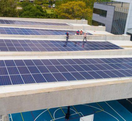 MADAGASCAR: American school of Antananarivo now solar-powered©GreenYellow