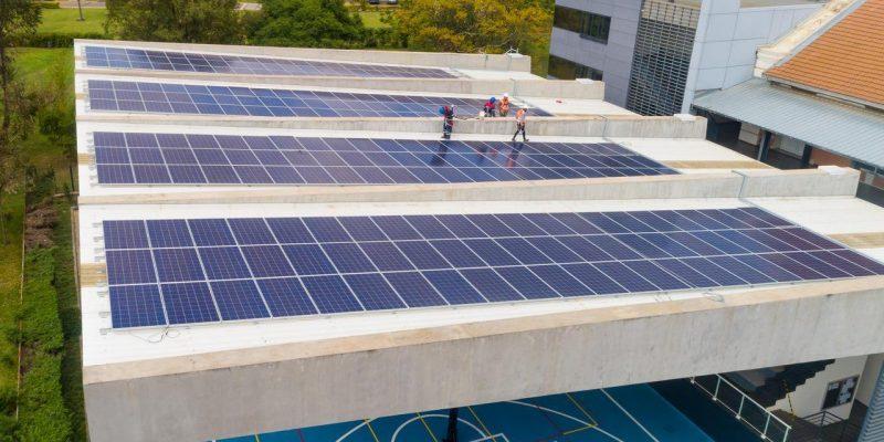 MADAGASCAR : l'école américaine d'Antananarivo désormais alimentée au solaire©GreenYellow
