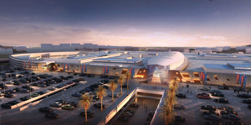 EGYPT: Eco-friendly CCA shopping centre, certified LEED Gold by USGBC©Majid Al Futtaim