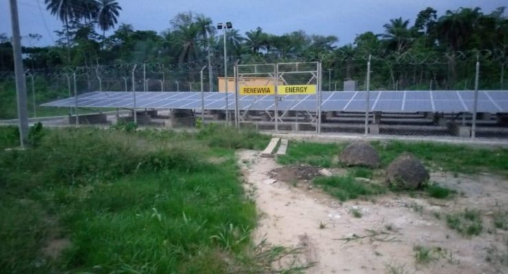 NIGERIA: Renewvia connects two solar mini-hybrid grids in Bayelsa State
