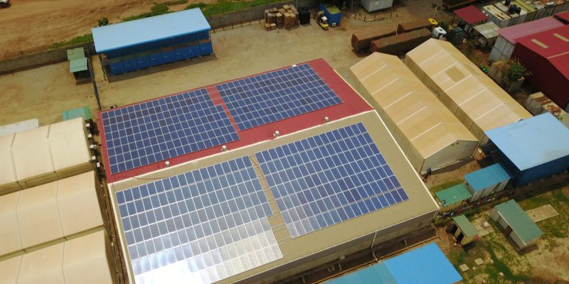 MOROCCO: Maroc Bureau installs photovoltaic systems at its factories ©Sebastian Noethlichs/Shutterstock