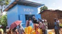 RWANDA : des kiosques pour fournir de l'eau potable dans 30 districts d'ici 2022©Water Access Rwanda