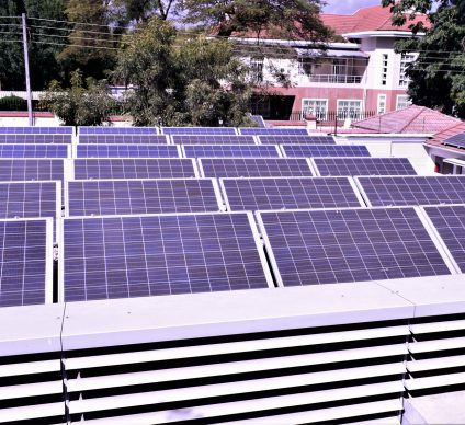 ZIMBABWE: Swiss embassy in Harare acquires 160 kWp solar system©Swiss Embassy in Harare