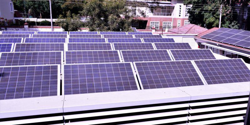 ZIMBABWE : l'ambassade de Suisse à Harare se dote d'un système solaire de 160 kWc©Ambassade de Suisse à Harare