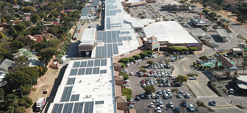 SOUTH AFRICA: Solareff to supply solar energy to Hyprop's shopping centres©Hyprop
