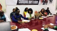 CAMEROON: Urban music celebrities commit to biodiversity©Mr. Leo-Artist