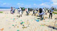 SÉNÉGAL : le Crac lance l'opération «plage zéro déchet» à Bargny©Eiffage au Sénégal