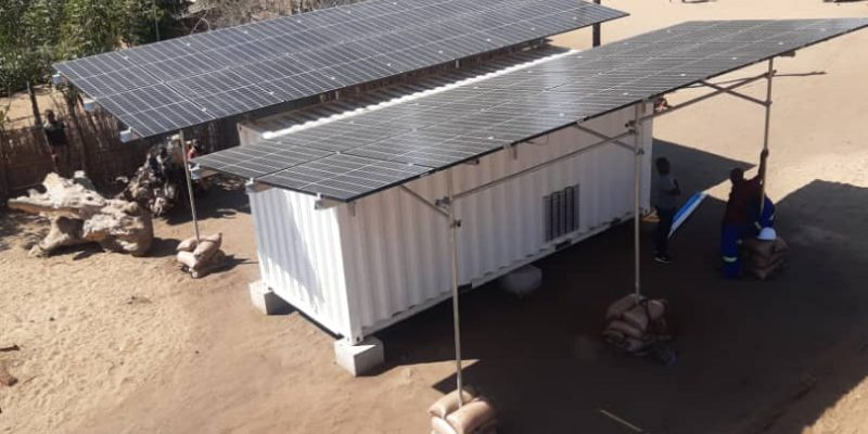 MALAWI: SustainSolar connects containerised solar mini-grid to Mthembanji©Mthembanji