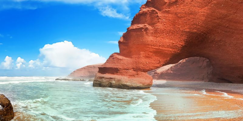 """MOROCCO: 26 beaches labelled """"Blue Flag"""" 2020 for sustainable development ©Migel/Shutterstock"""
