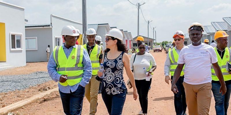 GHANA: Axcon launches construction of a 5 MWp solar power plant in Appolonia City©Appolonia City