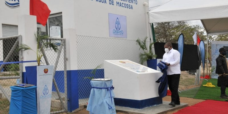MOZAMBIQUE: The government inaugurates a drinking water station in Macossa©Government of Mozambique