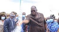 COTE D'IVOIRE : le gouvernement inaugure 2 châteaux d'eau dans la région de Moronou©Gouvernement de la Côte d'Ivoire