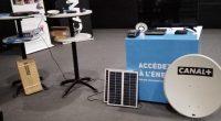 BÉNIN : Fénix et Canal + s'associent pour fournir la télévision alimentée au solaire©Fénix Bénin