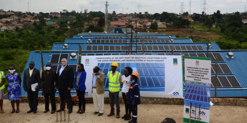 UGANDA: Nucafe equips its Namanve plant with a 172 kWp PV solar power plant©Nucafe