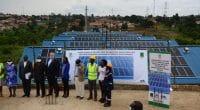 OUGANDA : la Nucafe dote son usine de Namanve d'une centrale solaire PV de 172 kWc ©Nucafe
