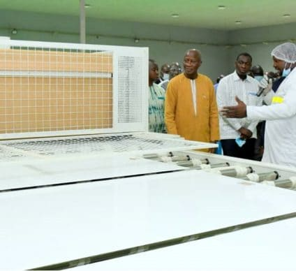 BURKINA FASO: A solar panel production plant built in Ouagadougou© Government of BURKINA FASO