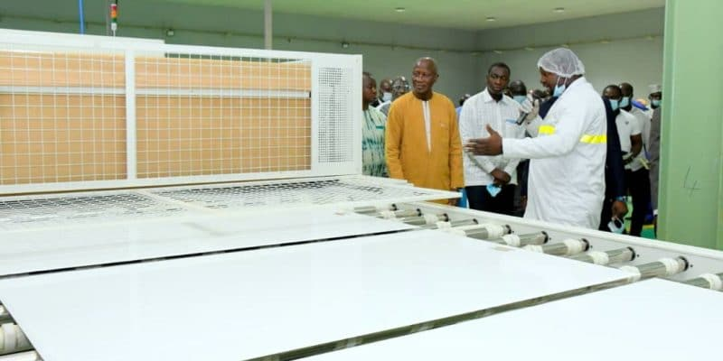 BURKINA FASO: A solar panel production plant built in Ouagadougou© Government of BURKINA FASO