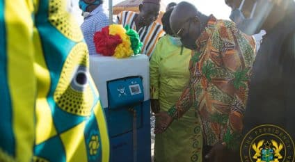 GHANA: Government inaugurates a drinking water supply system in the Upper West©Presidency of the Republic of Ghana