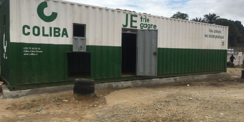 IVORY COAST: Coliba bets on kiosks for the collection of plastic waste ©Coliba