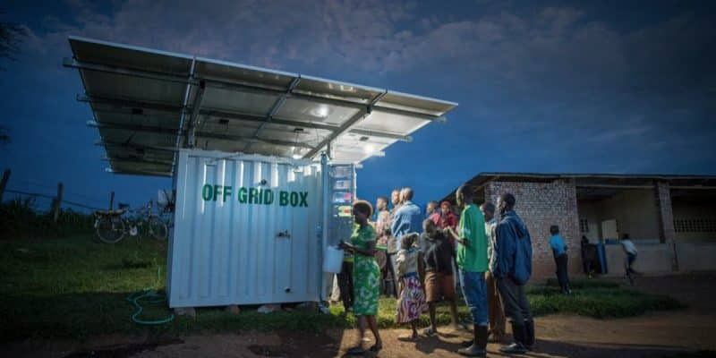 RWANDA: Engie and OffGridBox provide green energy, water and Wi-Fi in Kigali ©UNDP