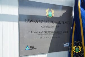GHANA: Elecnor delivers a 6.5 MWp photovoltaic solar power plant in Lawra©Presidency of the Republic of Ghana