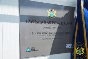 GHANA : Elecnor livre une centrale solaire photovoltaïque de 6,5 MWc à Lawra© Présidence de la République du Ghana