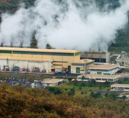KENYA: Construction of the Menengai geothermal power plant is completed ©Belikova Oksana/Shutterstock