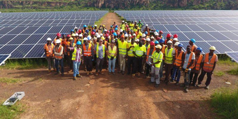 MALI : Akuo Energy met en service sa centrale solaire de Kita de 50 MWc©Akuo Energy