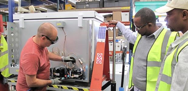 NIGERIA: Dulas to supply 780 solar-powered vaccine refrigerators:©Dulas