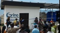 GHANA: Grino installs a solar-powered desalination system in Cape Coast©Grino