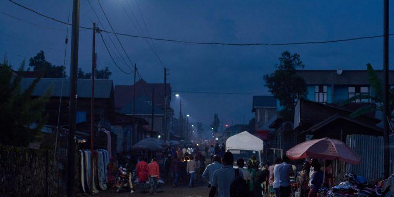 RDC : Goma éclairée au solaire grâce au crédit d'énergie renouvelable pour la paix©Nuru