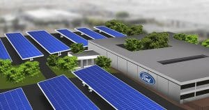 SOUTH AFRICA: Ford to equip its Pretoria plant with a 13.5 MWp solar system