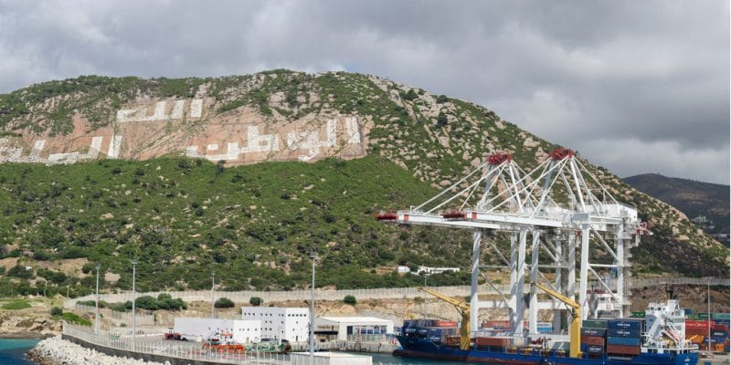 """MOROCCO: the port of Tangier Med awarded the 2020 """"ecoports"""" label for sustainable development©Druid007/Shutterstock"""