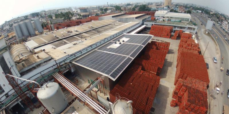 BENIN: SOBEBRA equips its Cotonou site with 352 solar panels ©SOBEBRA