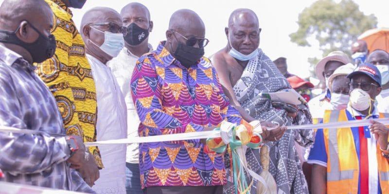 GHANA: Nana Akufo-Addo inaugurates 45 kW Tsatsadu mini-hydro power plant©BPA
