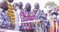 GHANA : Nana Akufo-Addo inaugure la mini-centrale hydroélectrique de Tsatsadu de 45 kW©BPA