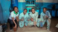 KENYA : Nzambi Matee récompensée pour son projet de recyclage des déchets plastiques©Gjenge Makers