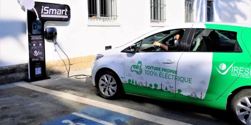 MAROC : le royaume dévoile sa première borne de recharge pour voitures électriques©Mohammed VI Polytechnic University