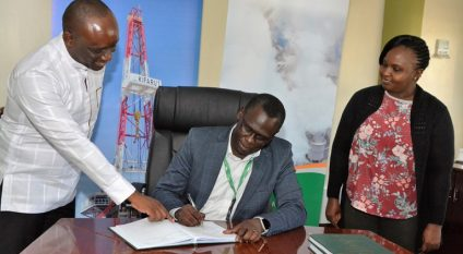 KENYA: Government receives GRMF 14.5 million for geothermal energy in Baringo-Silali©GDC