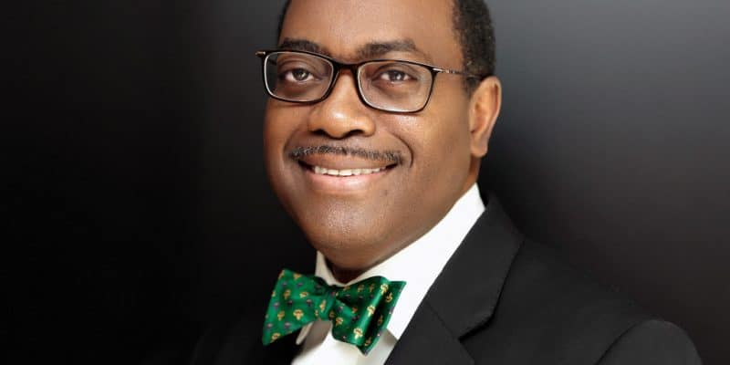 """SAHEL: the missions of the """"champion"""" of the Great Green Wall, Akinwunmi Adesina©AfDB"""