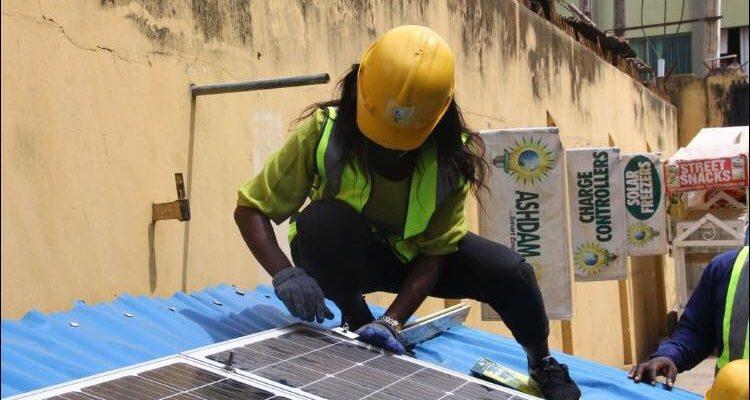 NIGERIA : l'USADF et All On récompensent neuf fournisseurs d'énergie verte©Ashdam Solar Company
