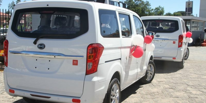 ZIMBABWE: BYD launches a 100% electric van on the market ©BYD ZIMBABWE