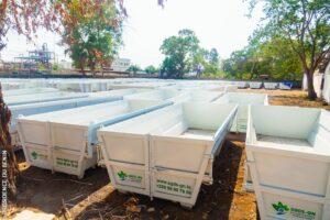 BÉNIN : la SGDS-GN s'équipe de 80 camions pour améliorer la collecte des déchets©SGDS-GN