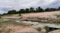 NAMIBIA: NamWater launches the rehabilitation of the Calueque-Oshakati canal©Namibian Ministry of Agriculture, Water and Agrarian Reform