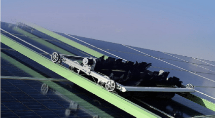 EGYPT: Ecoppia deploys robotic cleaning in the Benban solar complex© Ecoppia