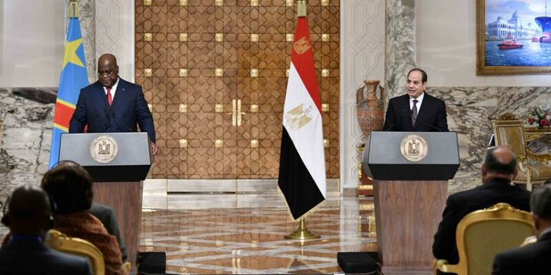 DRC-EGYPT: agreements for a drinking water project and a solar PV plant©Presidency of the Republic of Egypt