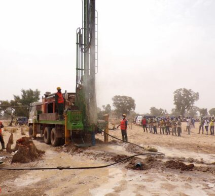 BURKINA FASO: Onea is building 4 boreholes to reinforce the water supply in Boussé©Onea